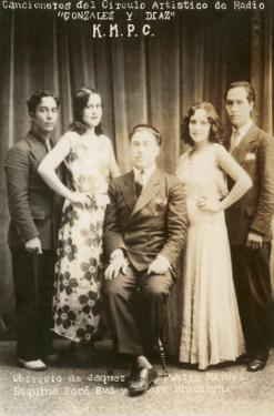 Forties Spanish Radio Singers