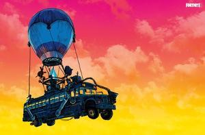 Fortnite - Battle Bus Landscape