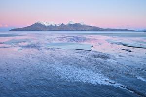 United Kingdom, Uk, Scotland, Highlands, Blue Dawn at Eigg Island by Fortunato Gatto