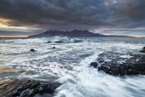 United Kingdom, Uk, Scotland, Highlands, Stormy Day at Singing Sands by Fortunato Gatto