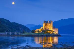 United Kingdom, Uk, Scotland, Inner Hebrides, Eilean Donan by Fortunato Gatto