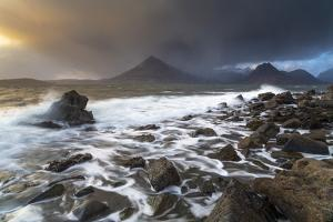 United Kingdom, Uk, Scotland, Inner Hebrides, Elgol Beach in All its Drama by Fortunato Gatto