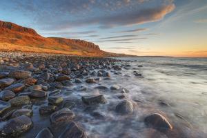 United Kingdom, Uk, Scotland, Inner Hebrides, Isle of Skye, a Nice Sunset by Fortunato Gatto