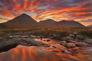 United Kingdom, Uk, Scotland, Inner Hebrides, Isle of Skye, Sligachan by Fortunato Gatto