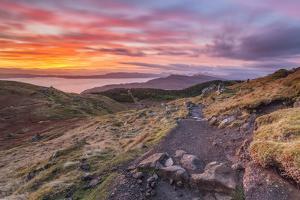 United Kingdom, Uk, Scotland, Inner Hebrides, Isle of Skye, Trotternish Hills by Fortunato Gatto