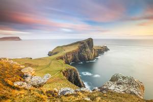 United Kingdom, Uk, Scotland, Inner Hebrides, the Cliffs of Neist Point by Fortunato Gatto