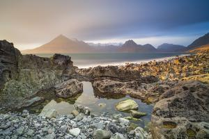 United Kingdom, Uk, Scotland, Inner Hebrides, the Cuillin Hills View from Elgol Beach by Fortunato Gatto