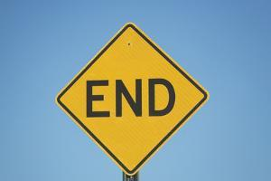 Usa, Florida, Close-Up of Dead End Sign by Fotog