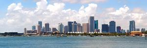 City of Miami Florida Cityscape of Downtown by Fotomak