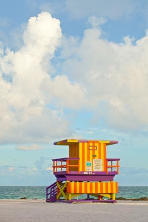 Miami Beach Florida Lifeguard House by Fotomak
