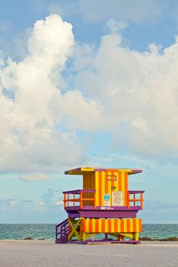 Miami Beach Florida Lifeguard House by Fotomak
