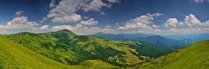 Highest Ukrainian Mountains Panorama by fotosutra.com