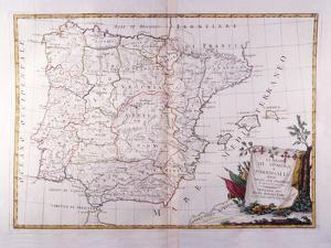 The Kingdom of Spain and Portugal Divided by Fototeca Gilardi