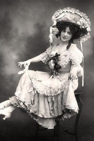 Fanny Dango (1878-197), Singer and Dancer, Early 20th Century