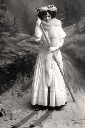 Gertie Millar (1879-195), English Actress, 1906