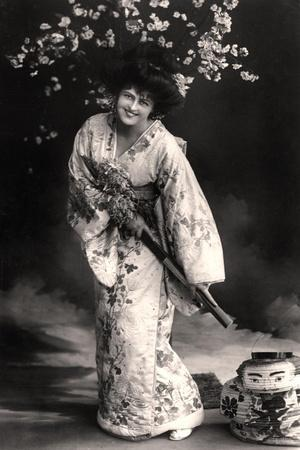 Marie Studholme (1875-193), English Actress, 20th Century