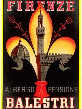 Albergo Pensione Balestri, Firenze by Found Image Holdings Inc