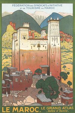 Morocco Travel Poster by Found Image Holdings Inc
