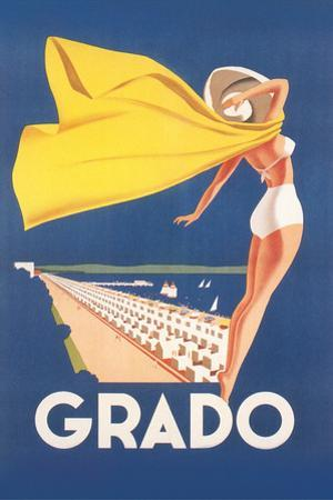 Travel Poster for Grado by Found Image Holdings Inc