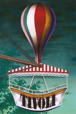 Travel Poster for Tivoli by Found Image Holdings Inc