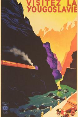 Yugoslavia Travel Poster by Found Image Holdings Inc