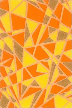 Abstract Geometric Pattern by Found Image Press