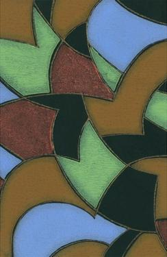 Abstract Stained Glass Pattern by Found Image Press