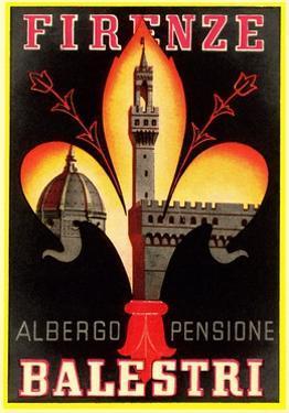 Albergo Pensione Balestri, Firenze by Found Image Press