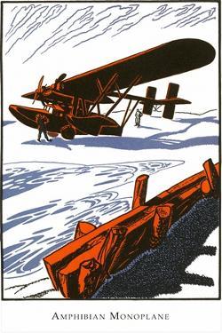 Amphibious Monoplane by Found Image Press
