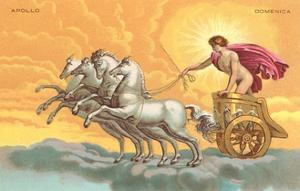 Apollo with Chariot by Found Image Press
