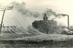 Blown down Power Lines by Found Image Press
