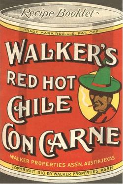 Can of Walker's Chile Con Carne by Found Image Press