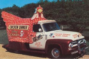 Chicken Truck by Found Image Press