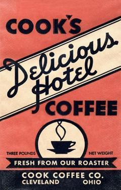 Cook's Delicious Hotel Coffee by Found Image Press
