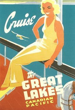 Cruise the Great Lakes by Found Image Press