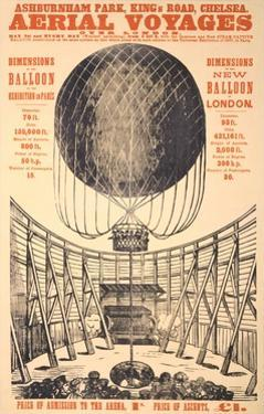 Early Lighter than Air Balloon by Found Image Press