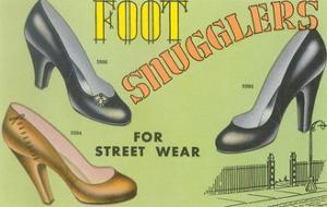 Foot Snugglers Women's Shoes by Found Image Press