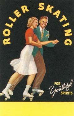 Forties Roller Skating for Youthful Spirits by Found Image Press