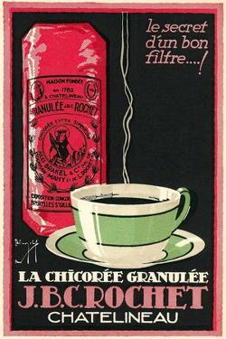 French Chicory Coffee Advertisement by Found Image Press