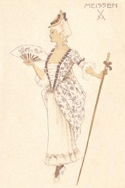 French Women's Fashion, Meissen by Found Image Press