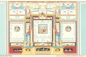 Fresco from Pompeii House by Found Image Press