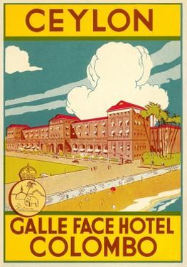 Galle Face Hotel, Colombo by Found Image Press