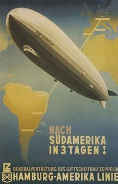 Graf Zeppelin to South America by Found Image Press