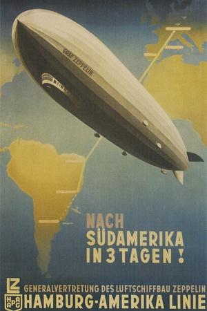 Graf Zeppelin to South America
