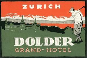 Grand Hotel Dolder, Zurich by Found Image Press