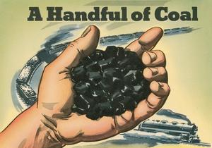 Handful of Coal by Found Image Press