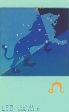Leo, the Lion by Found Image Press
