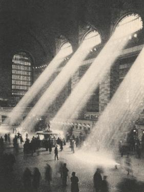 Light In Grand Central Station by Found Image Press