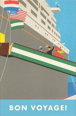 Ocean Liner by Found Image Press