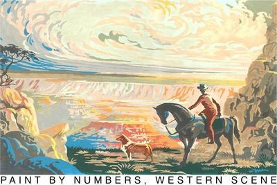 Paint by Numbers, Western Scene